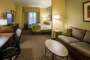 Accessible Room - The Best Western Plus Duncanville