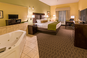 Whirlpool Suites - The BEST WESTERN PLUS Duncanville